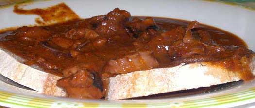 Bruschetta Piccante