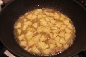 ricetta risotto mele formaggio