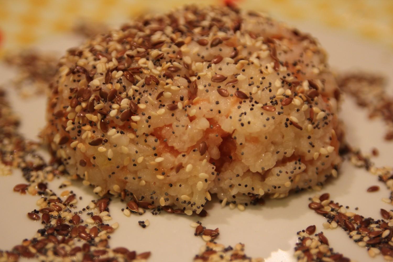 tartare di salmone sushi