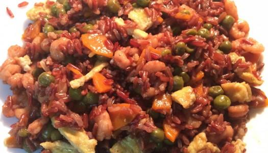Riso Thai Rosso con Verdure